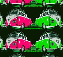 VW combi 2 colors by benbdprod