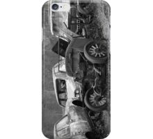 Old cars of a farm iPhone Case/Skin