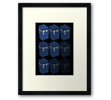 The T.A.R.D.I.S. Framed Print