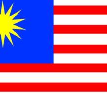 Flag of Malaysia Sticker
