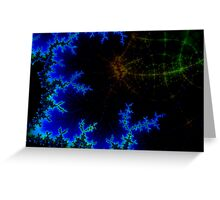 neuronal network Greeting Card