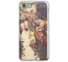 Floating Market iPhone Case/Skin