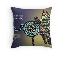 Mercy Out Of starvation Throw Pillow