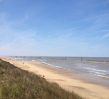 Sea Palling Beach by jeremyab