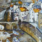 Staithes' Walls by Sue Nichol