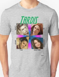 oh my god look what the Doctor dragged in Unisex T-Shirt