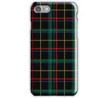 Tartan Background Black, Red, Green, Yellow iPhone Case/Skin