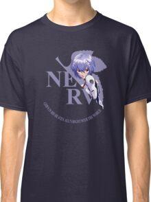 Rei - Nerv - Neon Genesis Evangelion Classic T-Shirt