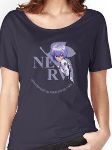 Rei - Nerv - Neon Genesis Evangelion Women's Relaxed Fit T-Shirt