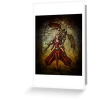 Guardian Of The Shapeshifter Greeting Card