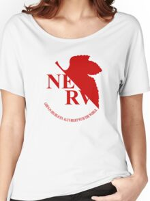 Nerv - Neon Genesis Evangelion Women's Relaxed Fit T-Shirt