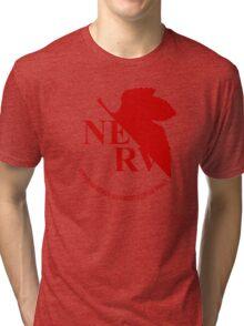Nerv - Neon Genesis Evangelion Tri-blend T-Shirt