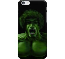 Incredible Hulk 1970s TV Series iPhone Case/Skin