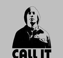 CALL IT grey iphone cover - Anton Chigurh by CaptainTrips