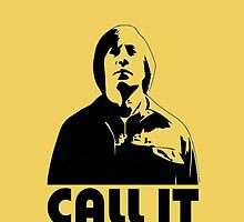 CALL IT yellow iphone cover - Anton Chigurh by CaptainTrips