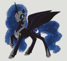 Armored Nightmare Moon by everlander