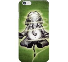 Yoga Elephant iPhone Case/Skin