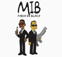Men In Black - Simpsonized by kazkami