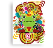 The frog which did not fit a prince Canvas Print