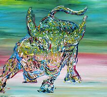 WALL STREET BULL by lautir
