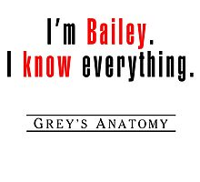 I'm Bailey by matabela