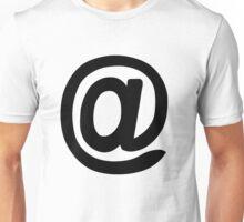 at symbol Unisex T-Shirt