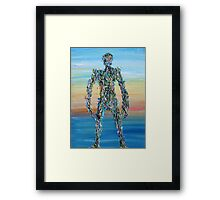HUMAN SYNDROME Framed Print