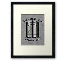 Arkham Asylum, Inmate: Poison Ivy  Framed Print