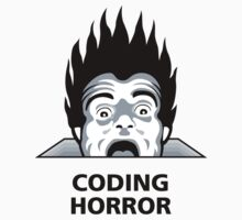 Coding Horror by bape ★ $1.49 stickers