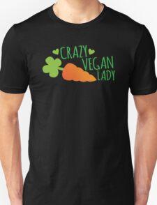 CRAZY VEGAN LADY T-Shirt