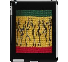 lively reggae dancers (square) iPad Case/Skin