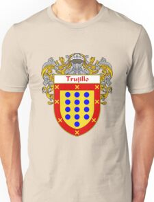 Trujillo Coat of Arms/Family Crest Unisex T-Shirt
