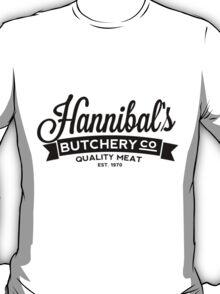 Hannibal's Butchery (DARK) T-Shirt