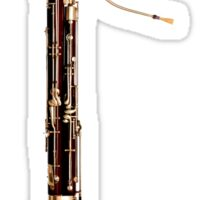 Bassoon (front view) Sticker