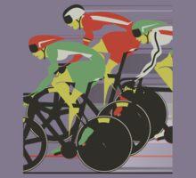 Velodrome bike race Kids Clothes