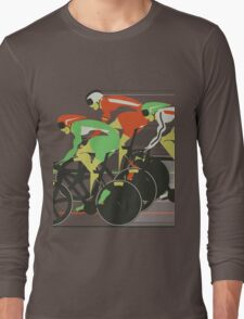 Velodrome bike race Long Sleeve T-Shirt
