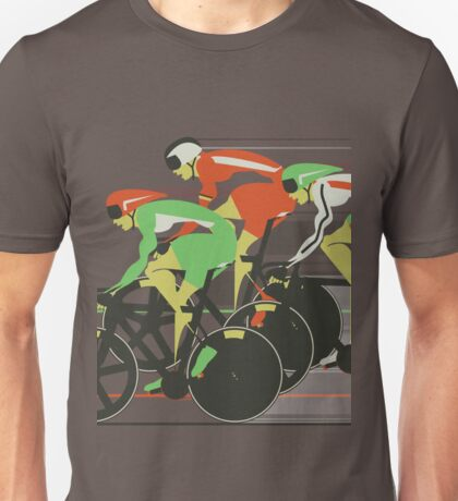 Velodrome bike race Unisex T-Shirt
