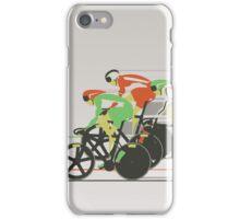 Velodrome bike race iPhone Case/Skin