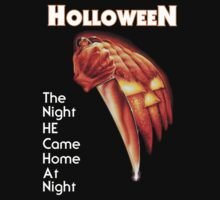 "HALLOWEEN - ""The Night He Came Home At Night"" by Slightly Wrong Quotes"