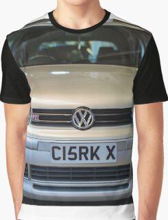 Silver VW Golf GTi Graphic T-Shirt