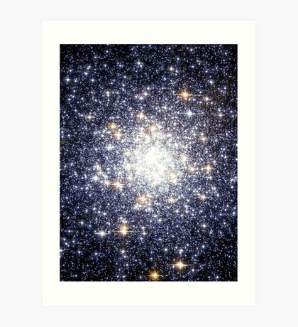 Cluster Galaxy 3 | The Universe by Sir Douglas Fresh Art Print