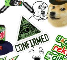 Dank MLG funny MEME Sticker