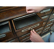 Very old drawer Photographic Print