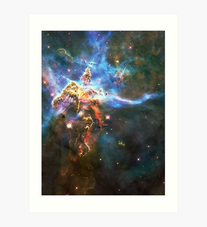 God's Domain | The Universe by Sir Douglas Fresh Art Print