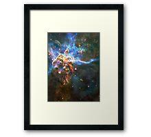 God's Domain | The Universe by Sir Douglas Fresh Framed Print