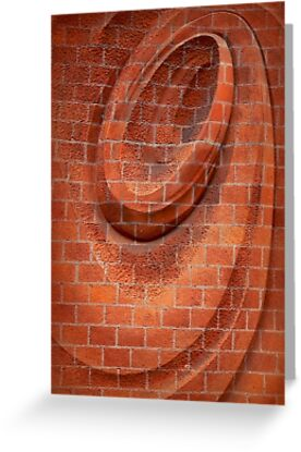 Spiral in Brick by paintingsheep