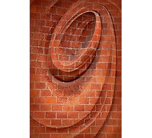 Spiral in Brick Photographic Print