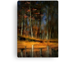 The Last Leaves of Autumn Canvas Print