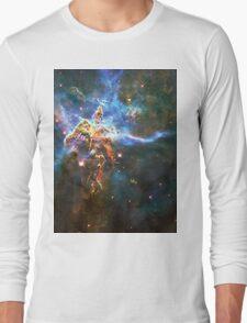 God's Domain | The Universe by Sir Douglas Fresh Long Sleeve T-Shirt