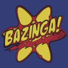 The Big Bang Theory - Bazinga by eyevoodoo